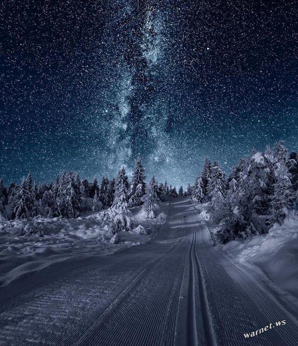 Красивые картинки зимы на заставку телефона (28)