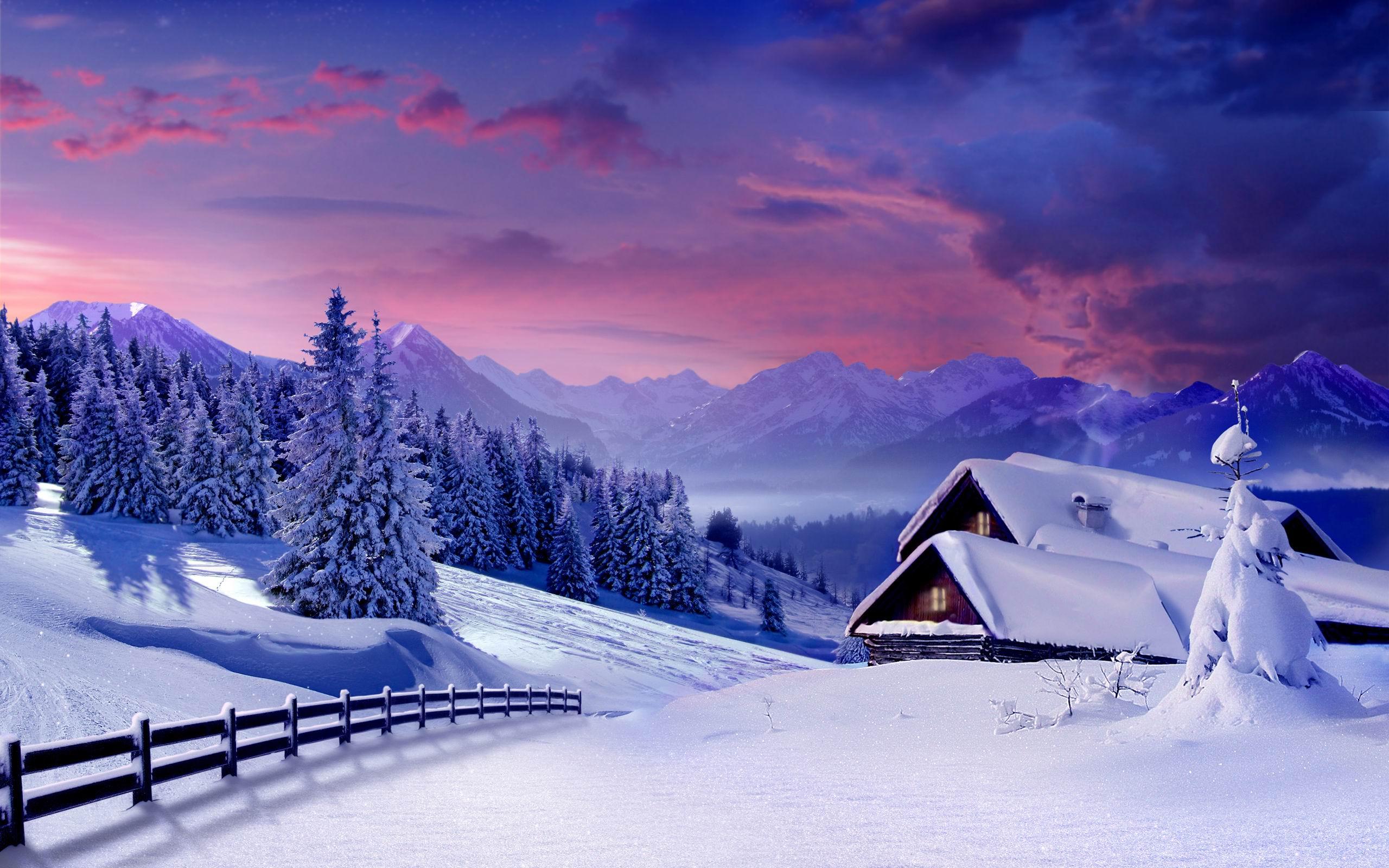 Красивые картинки зимы на рабочий стол в хорошем качестве (1)