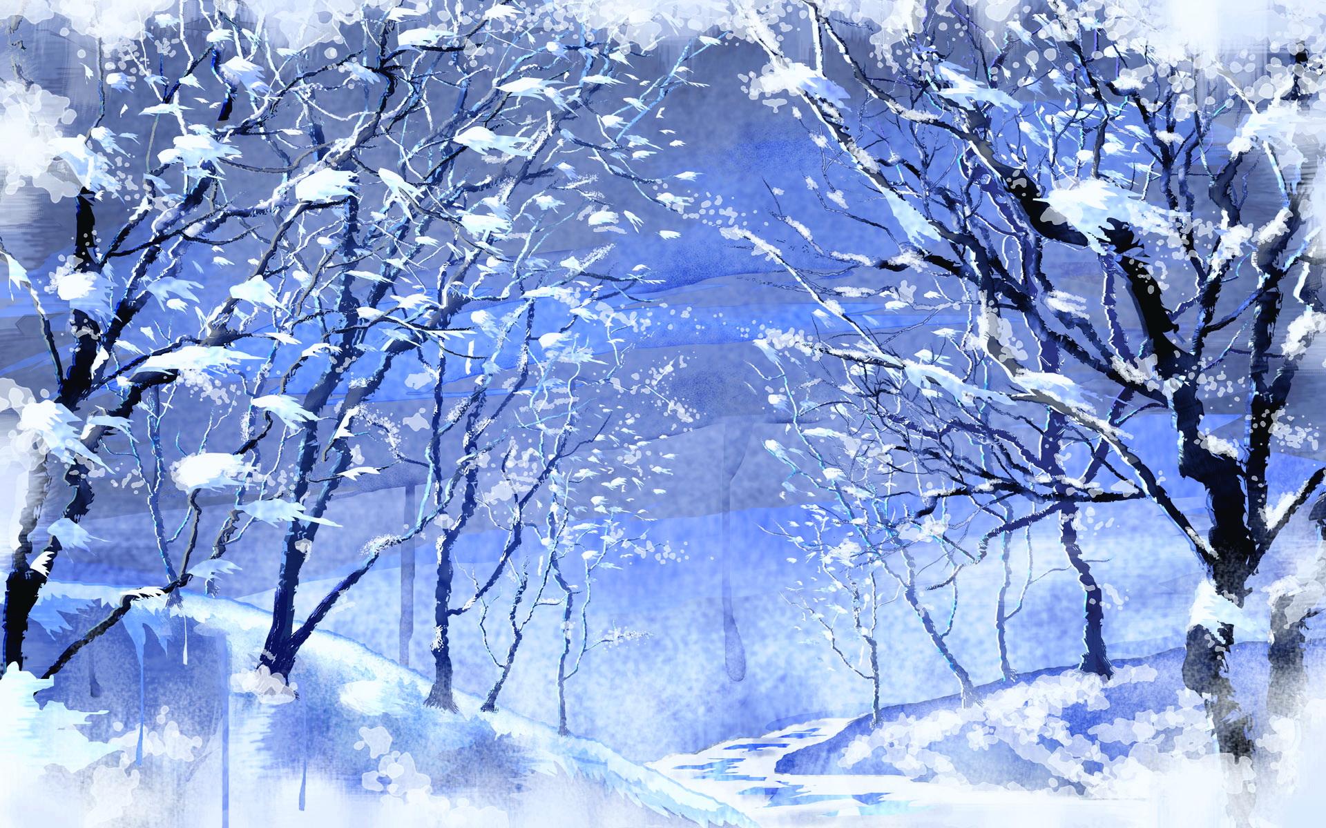 Красивые картинки зимы на рабочий стол в хорошем качестве (16)