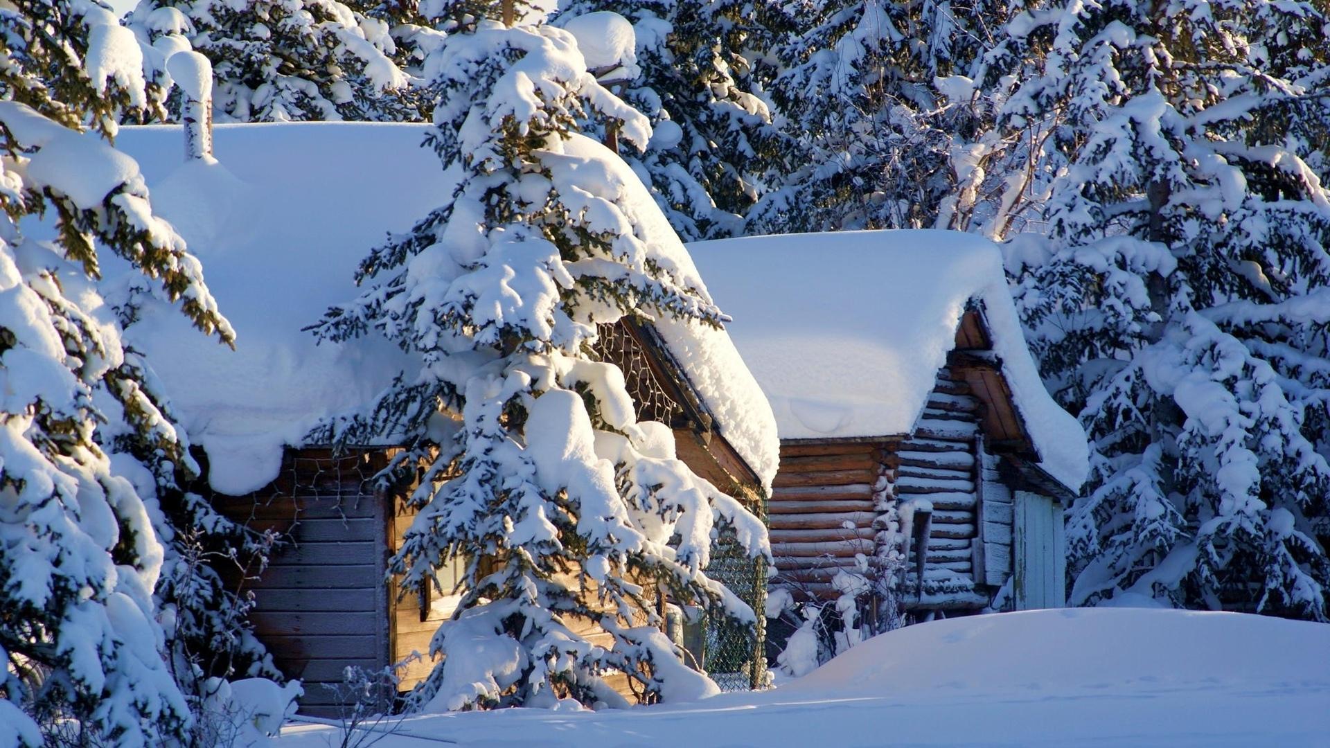 Красивые картинки зимы на рабочий стол в хорошем качестве (17)