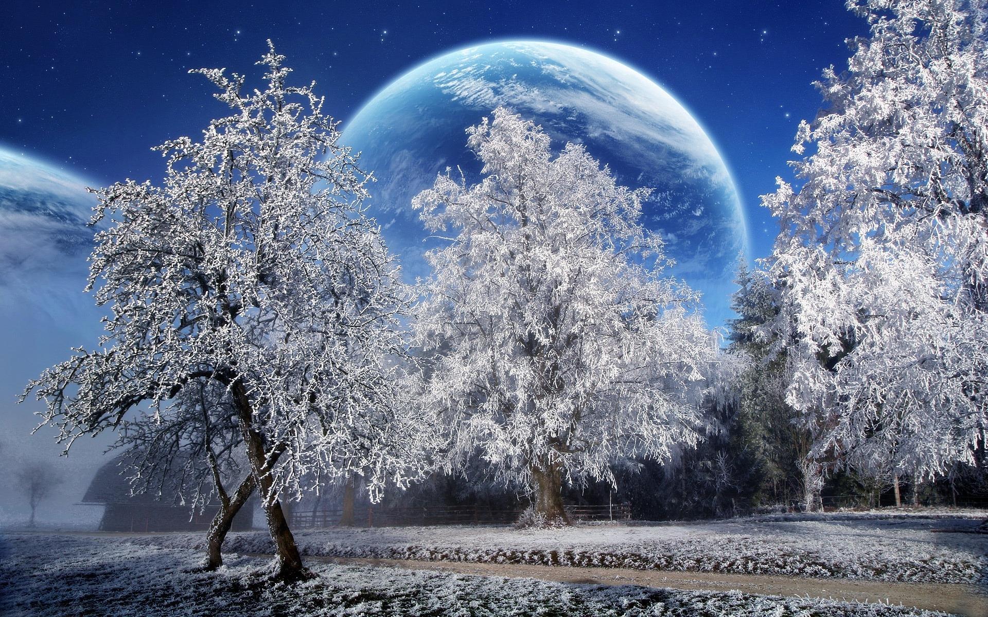 Красивые картинки зимы на рабочий стол в хорошем качестве (19)