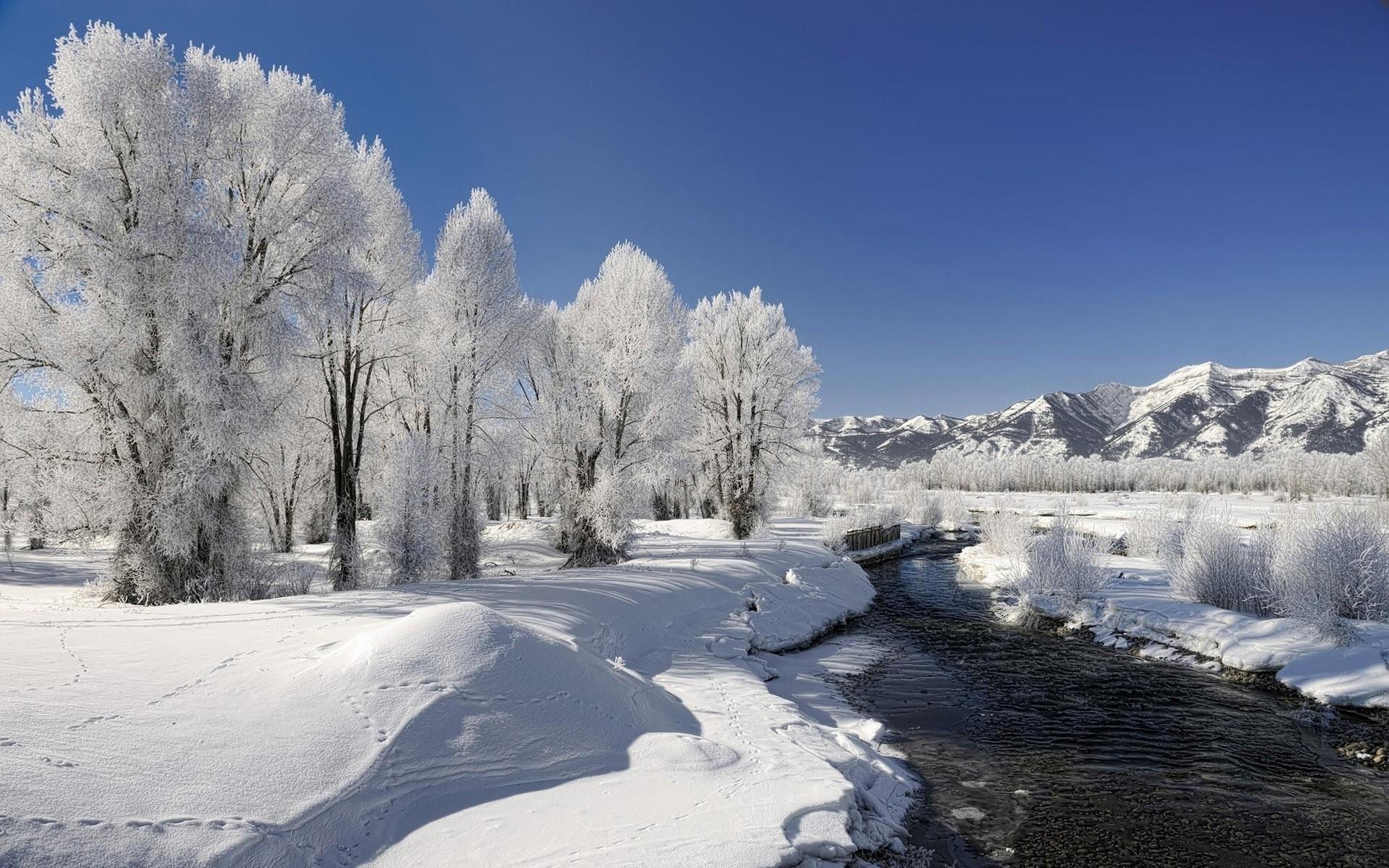 Красивые картинки зимы на рабочий стол в хорошем качестве (21)
