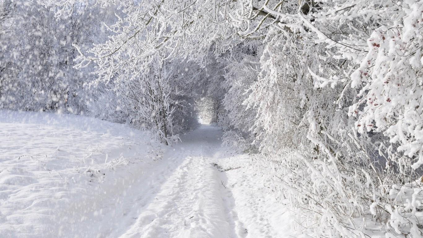 Красивые картинки зимы на рабочий стол в хорошем качестве (7)