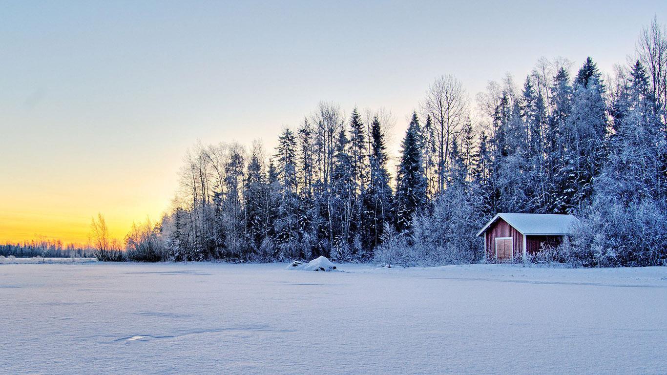 Красивые картинки зимы на рабочий стол в хорошем качестве (8)
