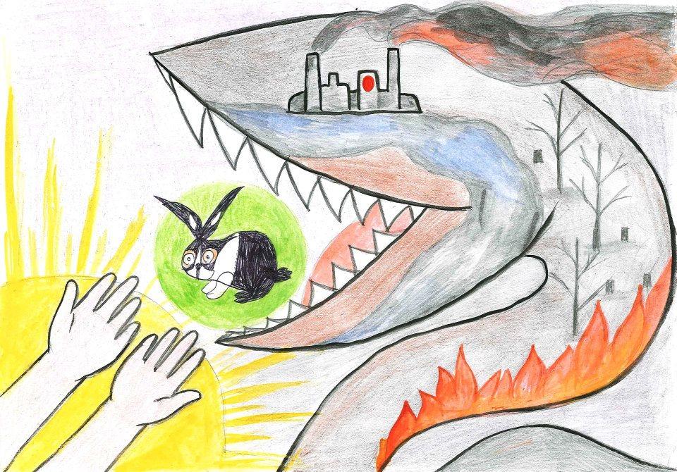 Красивые картинки и рисунки про окружающую среду (1)