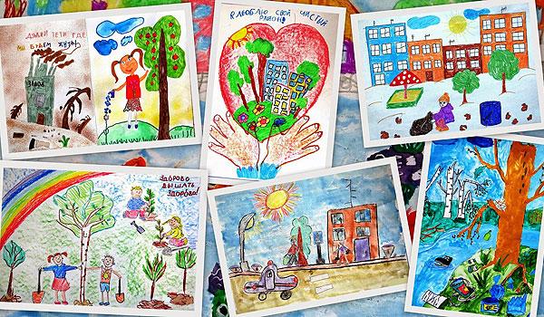 Красивые картинки и рисунки про окружающую среду (10)