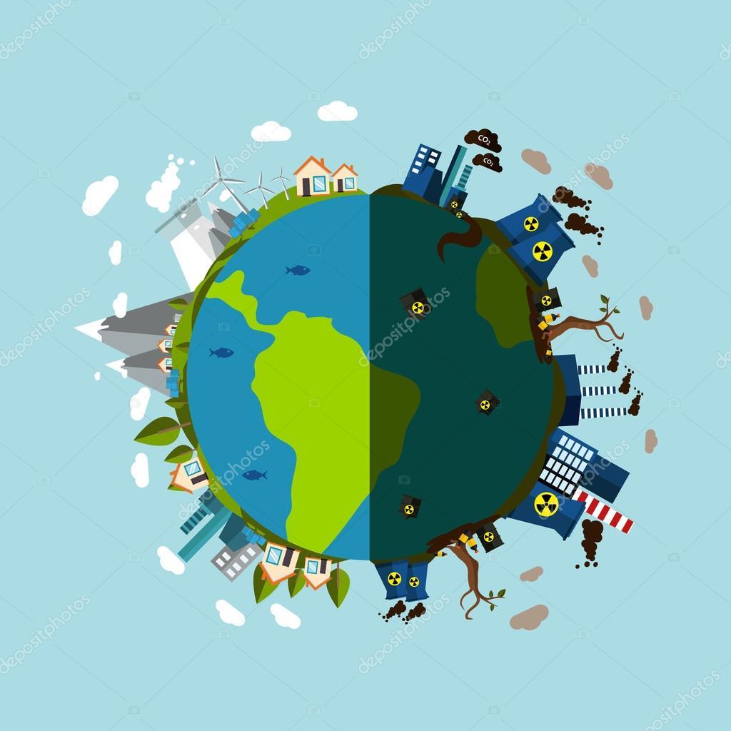 Красивые картинки и рисунки про окружающую среду (14)