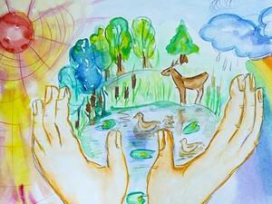 Красивые картинки и рисунки про окружающую среду (21)