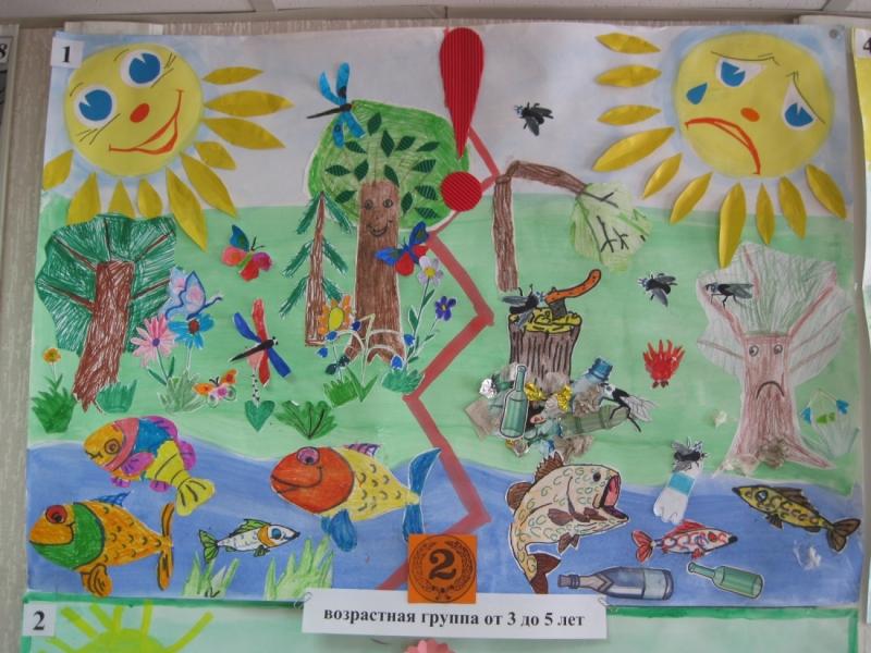 Красивые картинки и рисунки про окружающую среду (24)