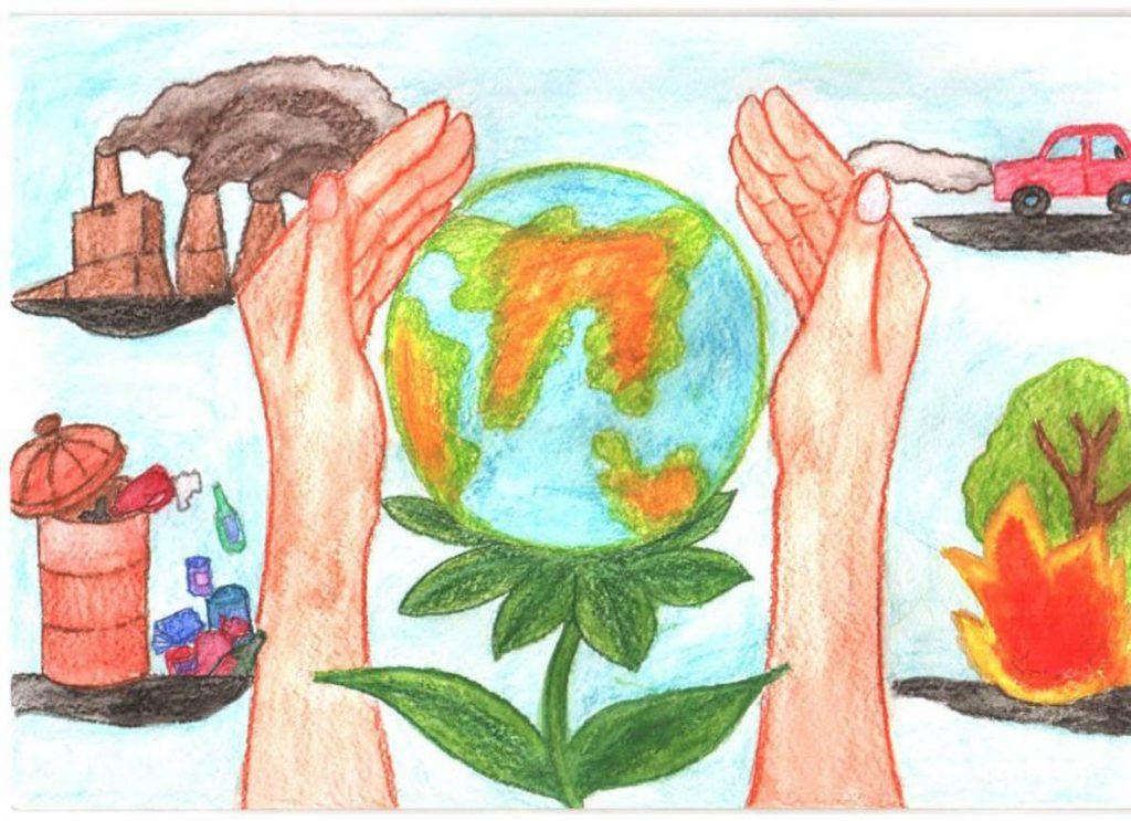 Красивые картинки и рисунки про окружающую среду (4)