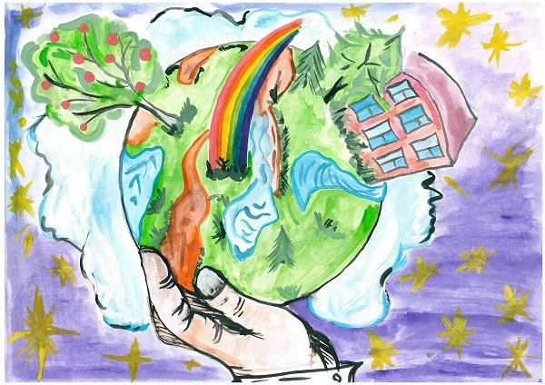 Красивые картинки и рисунки про окружающую среду (6)
