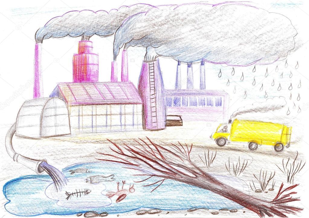 Красивые картинки и рисунки про окружающую среду (8)