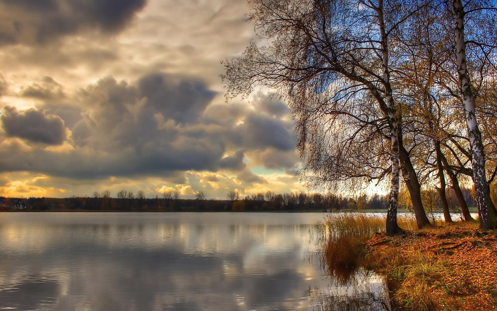 Красивые картинки поздняя осень на рабочий стол (8)