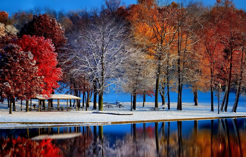 Красивые картинки поздняя осень на рабочий стол (9)