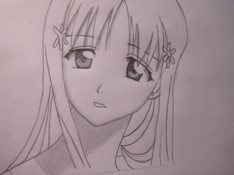 Красивые рисунки Блич для срисовки013