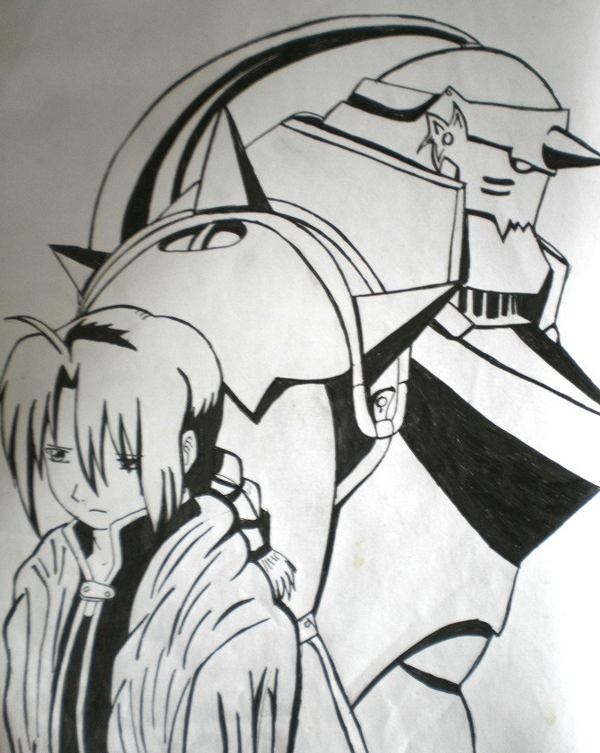 Красивые рисунки Блич для срисовки020