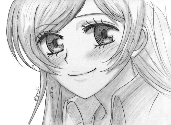 Красивые рисунки Дороро для срисовки005