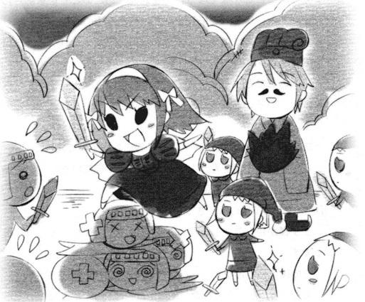 Красивые рисунки Исчезновение Харухи Судзумии для срисовки003