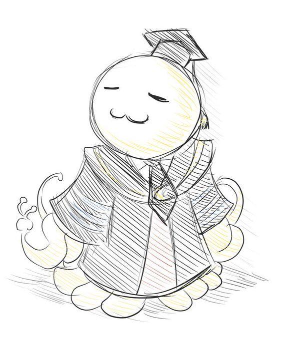 Красивые рисунки Класс убийц для срисовки (4)