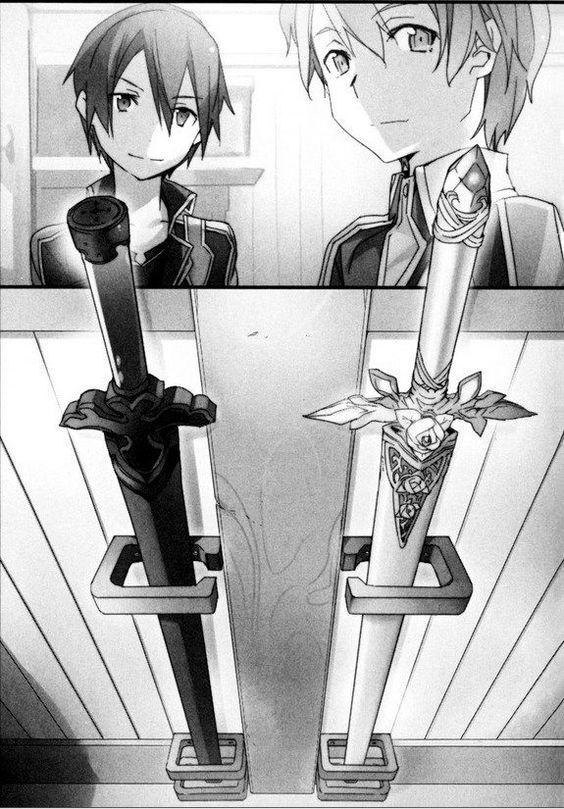 Красивые рисунки Мастера меча онлайн для срисовки (4)