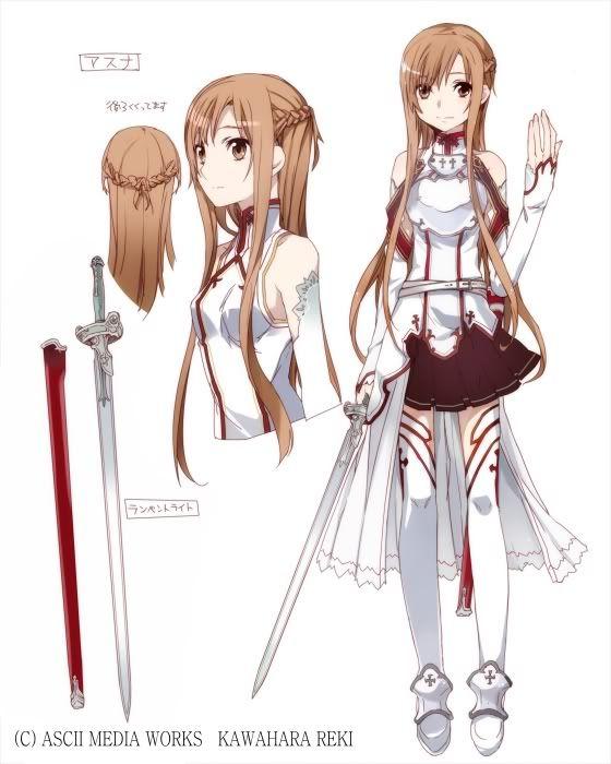 Красивые рисунки Мастера меча онлайн для срисовки (6)