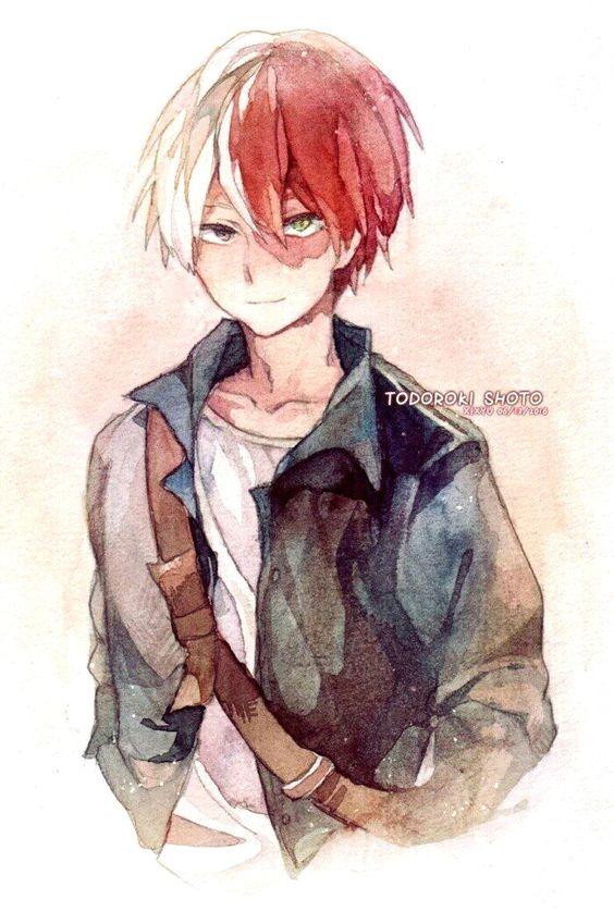 Красивые рисунки Моя геройская академия для срисовки (8)
