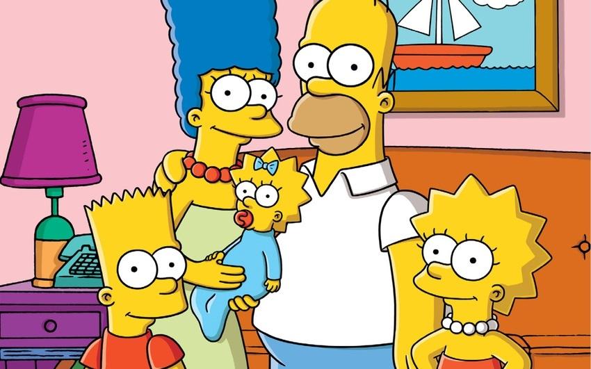 Красивые рисунки Симпсонов для срисовки002