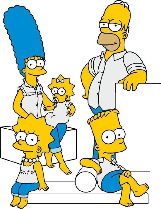 Красивые рисунки Симпсонов для срисовки011