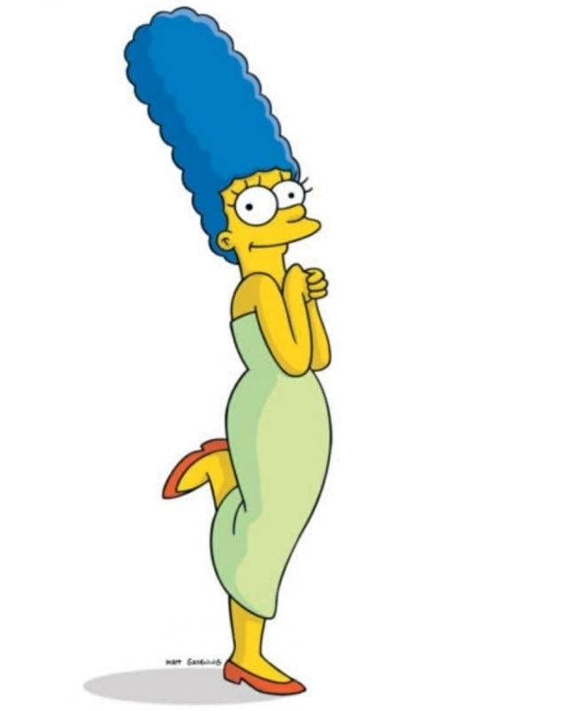 Красивые рисунки Симпсонов для срисовки013