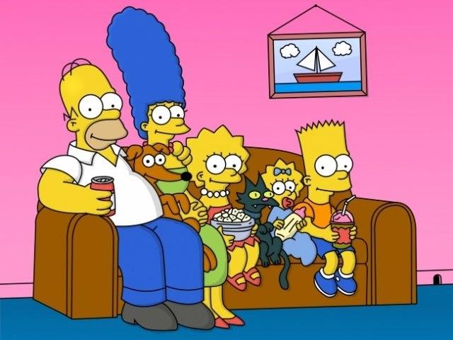Красивые рисунки Симпсонов для срисовки023