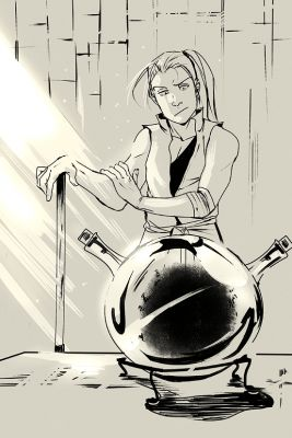 Красивые рисунки Стальной Алхимик для срисовки (24)