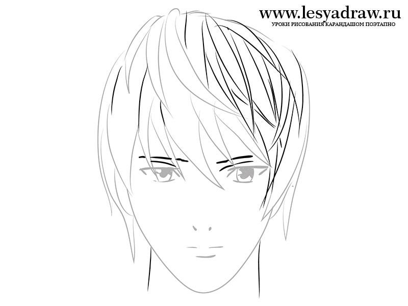 Красивые рисунки Тетрадь смерти для срисовки014