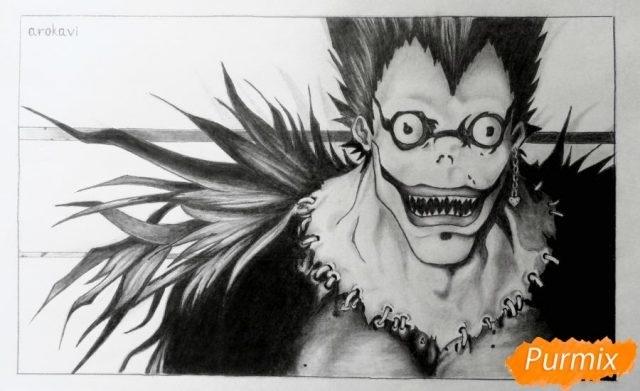 Красивые рисунки Тетрадь смерти для срисовки021