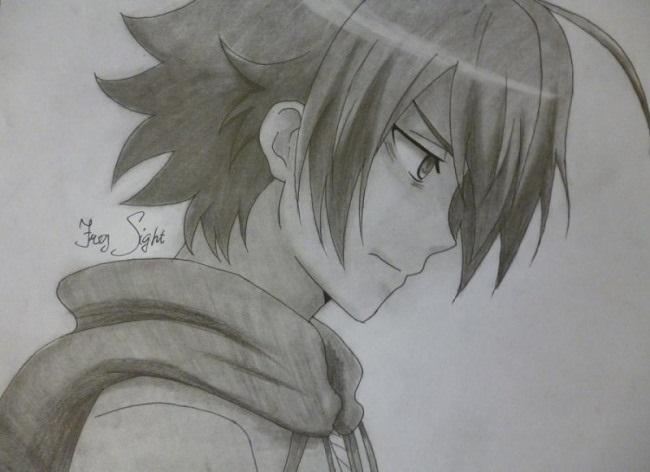 Красивые рисунки Убийца Акаме для срисовки002