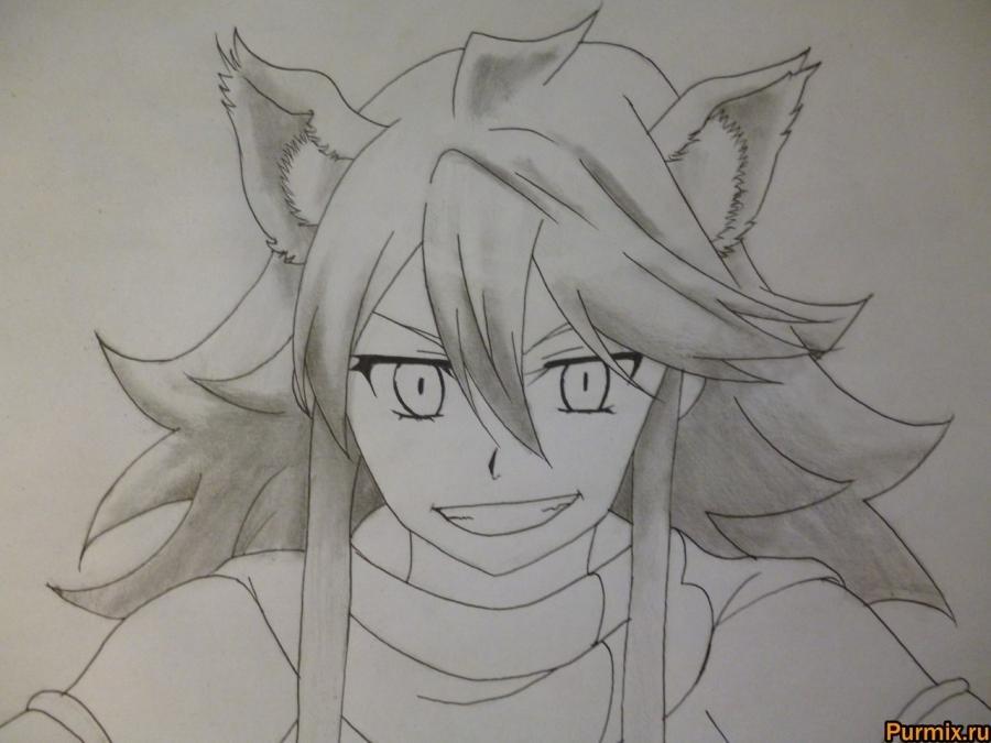 Красивые рисунки Убийца Акаме для срисовки010