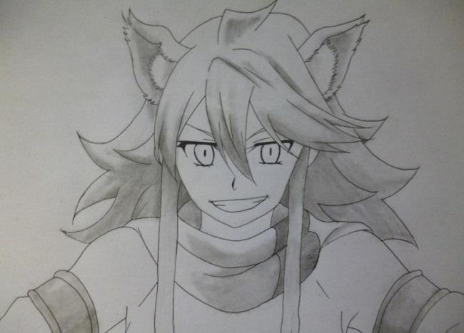 Красивые рисунки Убийца Акаме для срисовки013