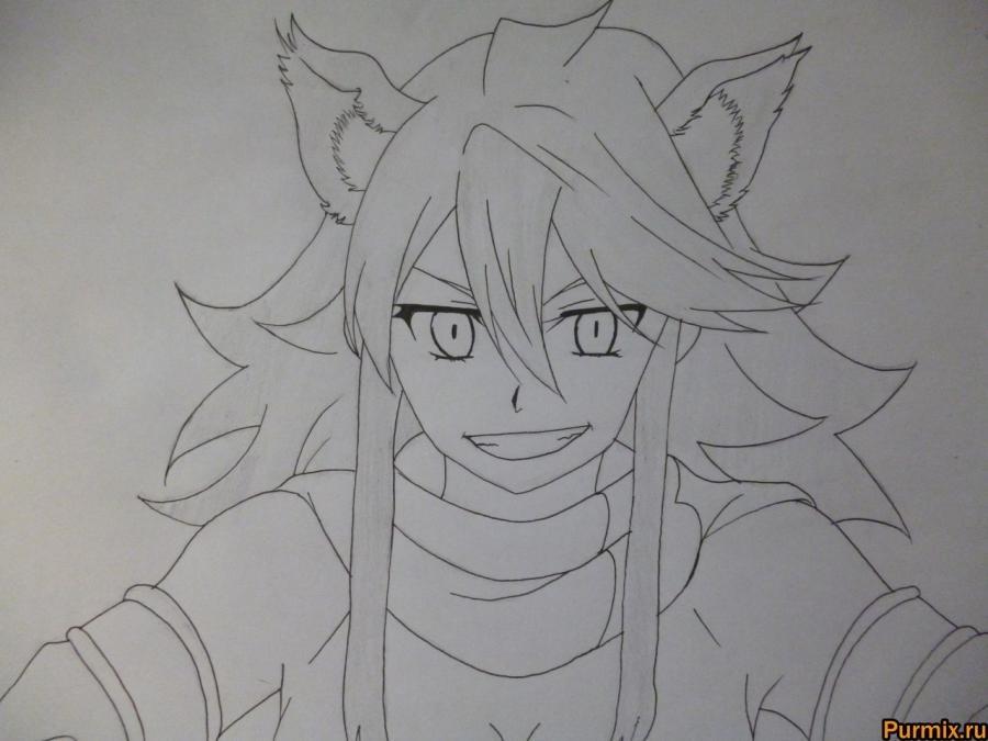 Красивые рисунки Убийца Акаме для срисовки014