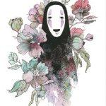Красивые рисунки Унесенные призраками для срисовки