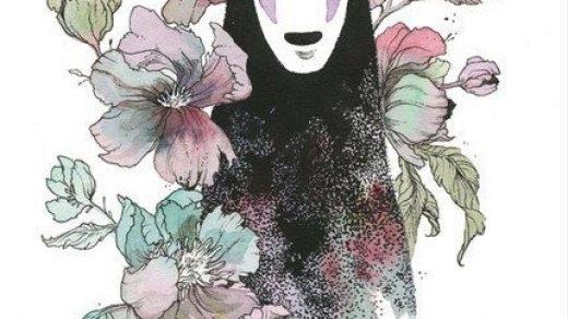 Красивые рисунки Унесенные призраками для срисовки004