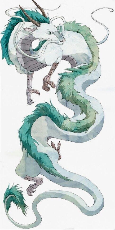 Красивые рисунки Унесенные призраками для срисовки007