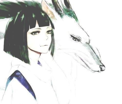 Красивые рисунки Унесенные призраками для срисовки018