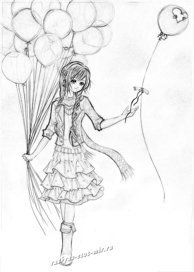 Красивые рисунки Фортнайт для срисовки009