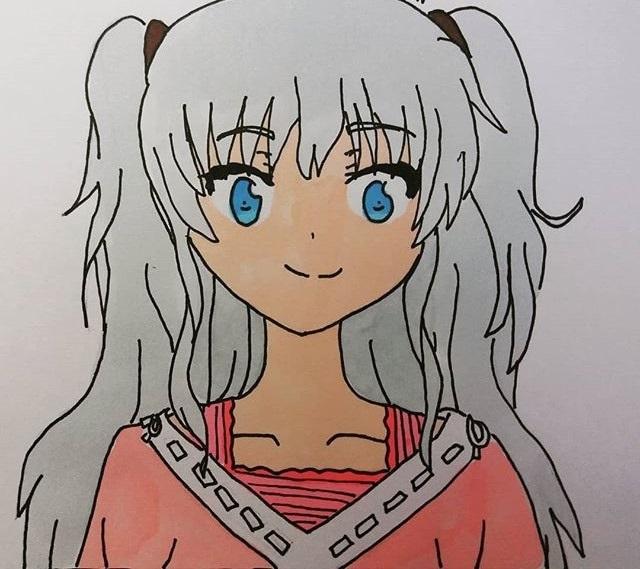 Красивые рисунки Шарлотта для срисовки001