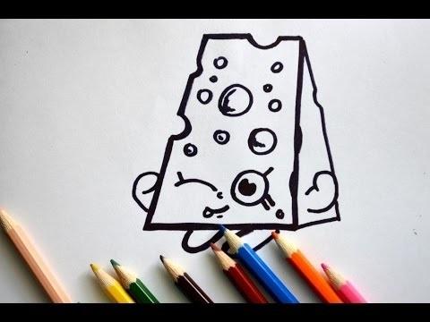 Красивые рисунки Шопкинс для срисовки012