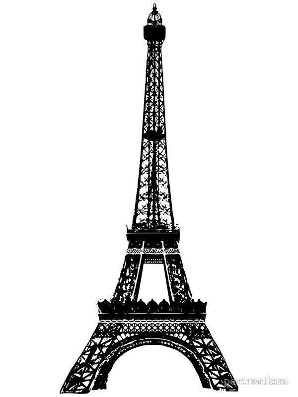 Красивые рисунки Эйфелевой башни для срисовки022