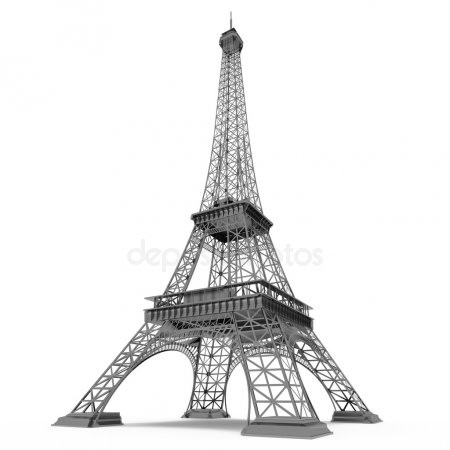 Красивые рисунки Эйфелевой башни для срисовки023