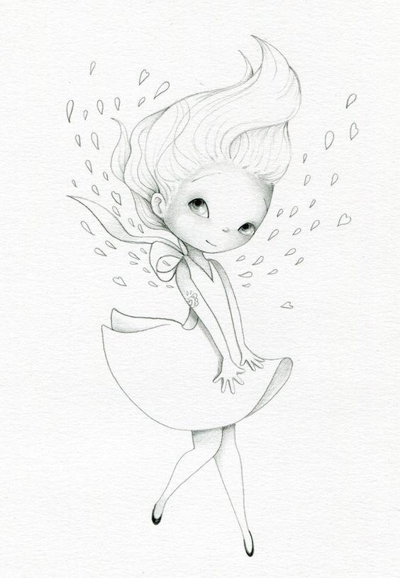 Красивые рисунки акварелью для срисовки002