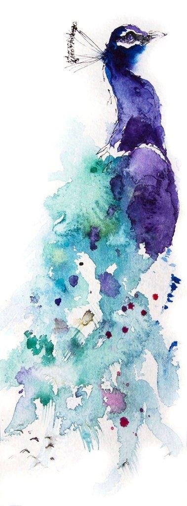 Красивые рисунки акварелью для срисовки018