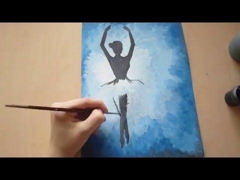 Красивые рисунки акриловыми красками для срисовки001