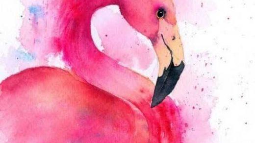 Красивые рисунки акриловыми красками для срисовки006